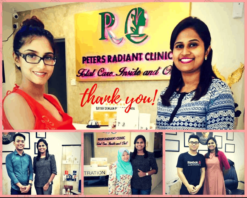 Peters Radiant Clinic testimonials